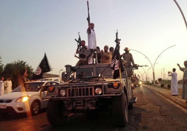 Terroryści z Państwa Islamskiego w Iraku