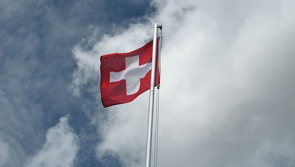 Flaga Szwajcarii - Sputnik Polska