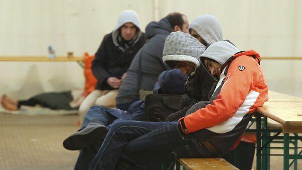 Imigranci w Berlinie - Sputnik Polska