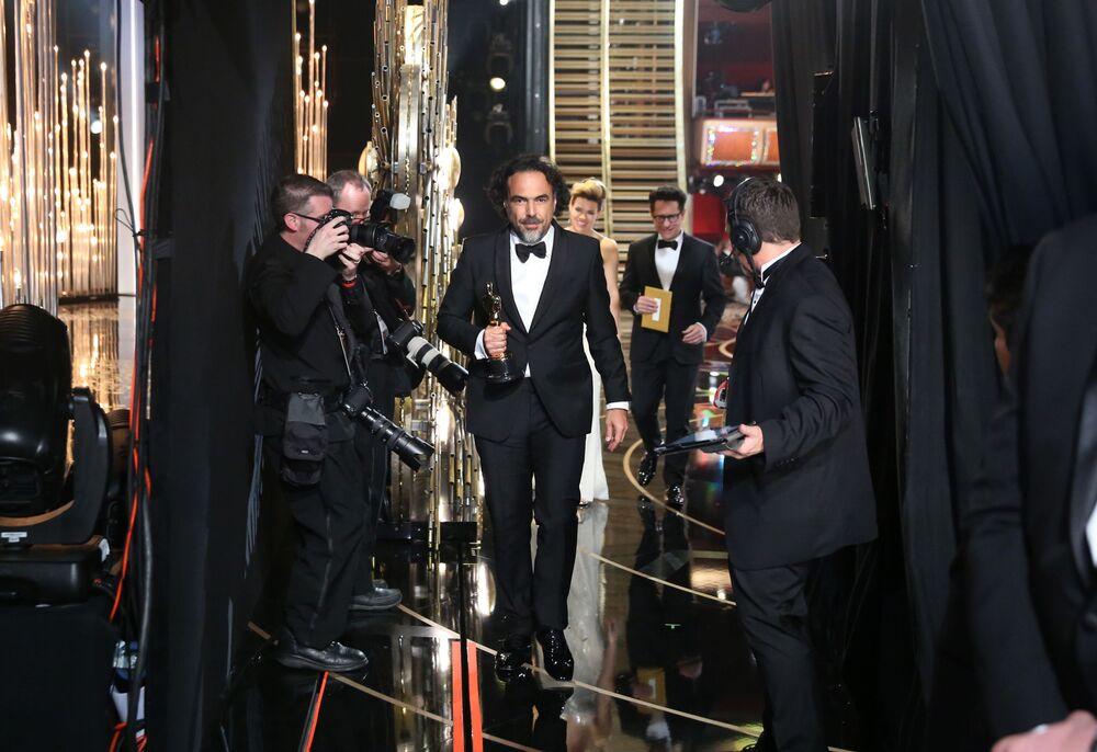 Reżyser Alejandro Gonzalez Innaritu