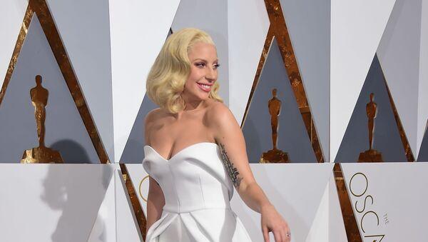 Lady Gaga podczas 88. ceremonii wręczenia Oscarów - Sputnik Polska