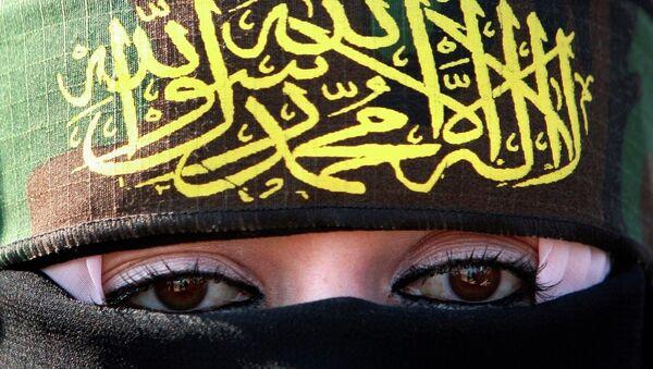 Kobieta popierająca dżihad - Sputnik Polska