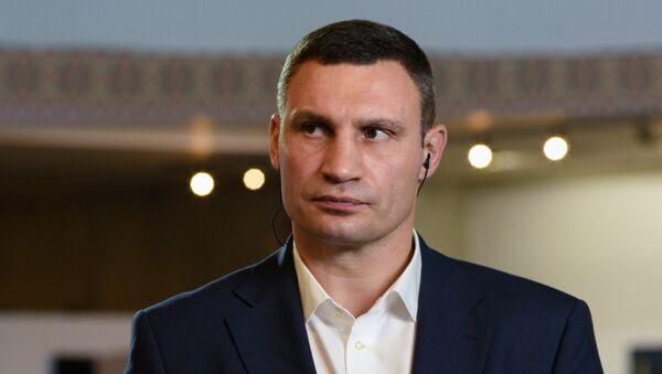 Burmistrz Kijowa Witalij Kliczko - Sputnik Polska