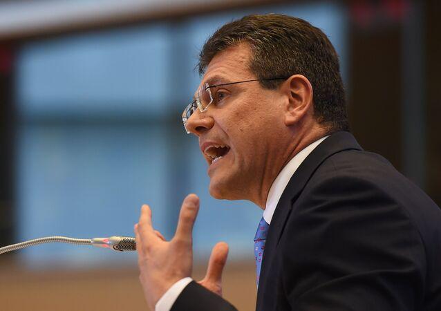 Wiceprzewodniczący Komisji Europejskiej ds. Unii Energetycznej Maroš Šefčovič