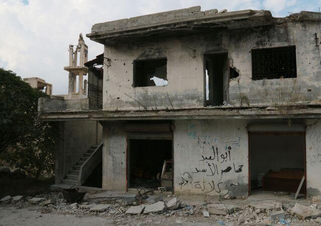 Meczet wioski Gmam w prowincji Latakia