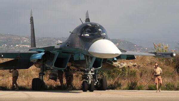 Baza lotnicza Hmeymim w Latakii, Syria - Sputnik Polska