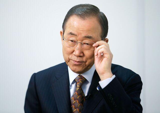 Sekretarz generalny Ban Ki-moon