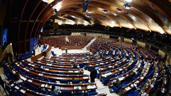 Plenarne posiedzenie Zgromadzenia Parlamentarnego Rady Europy - Sputnik Polska