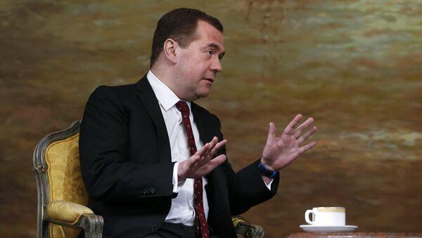 Oficjalna wizyta premiera Rosji Dmitrija Miedwiediewa w Tajlandii - Sputnik Polska