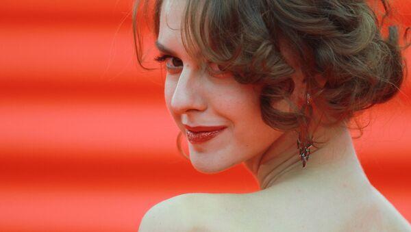 Aktorka Lianka Gryu podczas ceremonii otwarcia 37-go Moskiewskiego festiwalu filmowego - Sputnik Polska