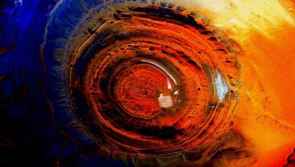 Zdjęcie Ziemi z kosmosu, zrobione przez amerykańskiego astronauta Scotta Kelly'ego - Sputnik Polska