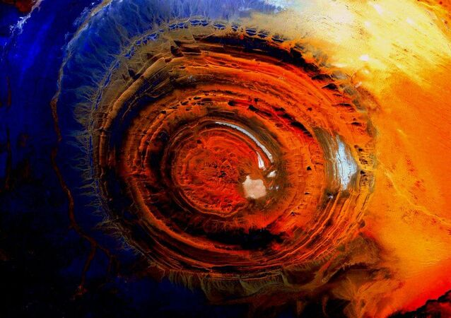 Zdjęcie Ziemi z kosmosu, zrobione przez amerykańskiego astronauta Scotta Kelly'ego