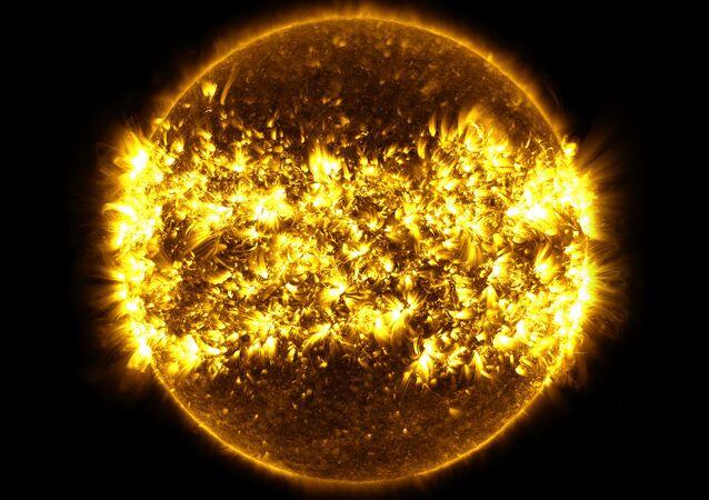 Zdjęcie Słońca, zrobione przez NASA
