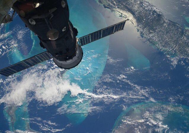 Widok z MSK na Ziemię