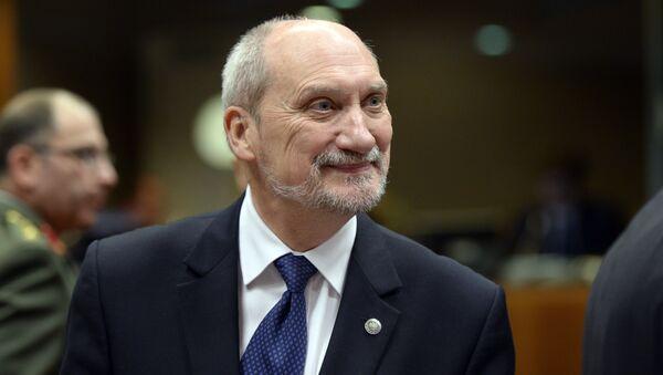 Minister obrony Polski Antoni Macierewicz - Sputnik Polska