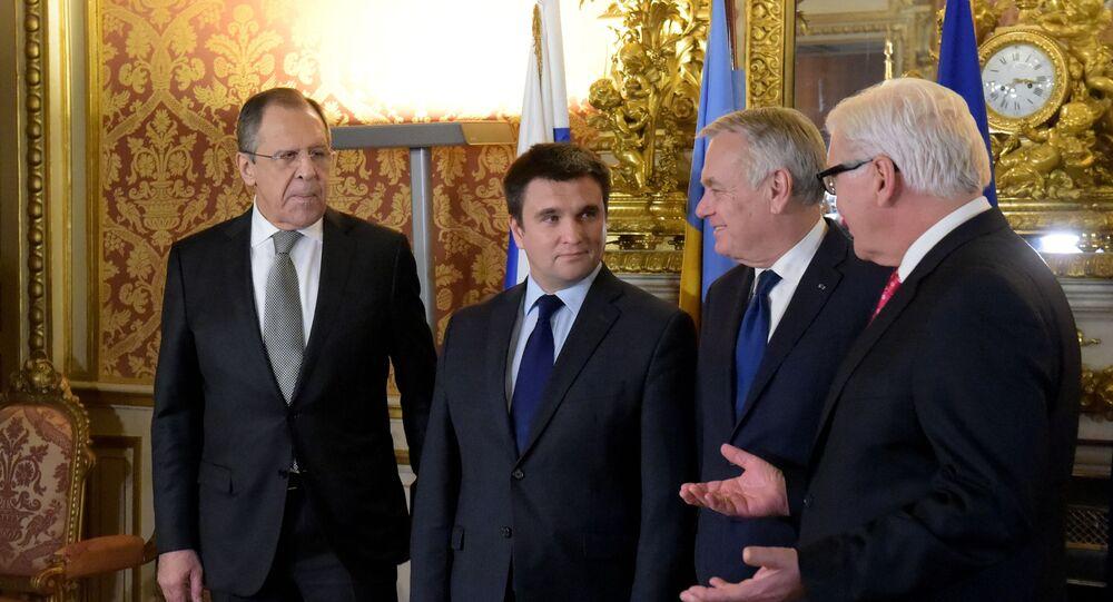 """Spotkanie ministrów spraw zagranicznych """"czwórki normandzkiej"""" ws. Ukrainy"""