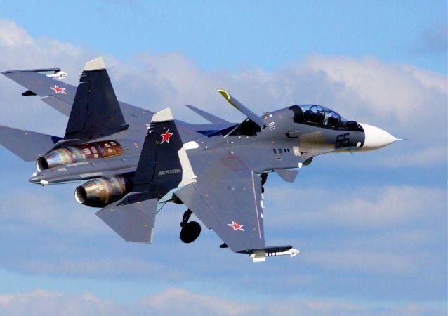 Rosyjski myśliwiec Su-35