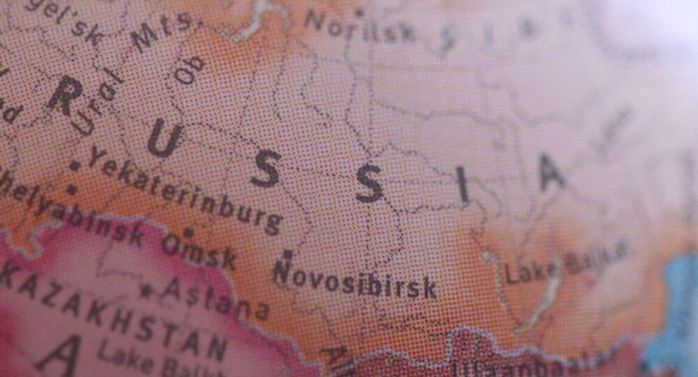 Mapa Rosji