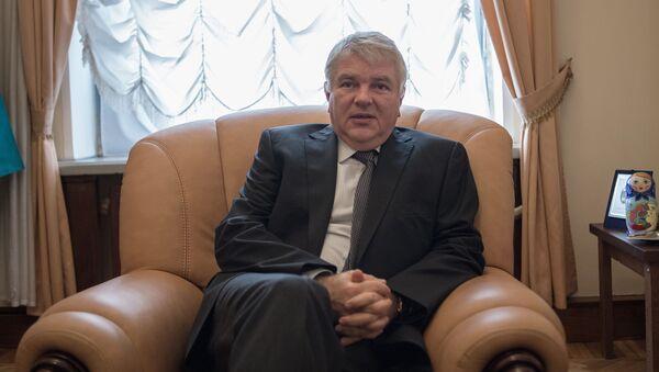 Wiceminister spraw zagranicznych Rosji Aleksiej Mieszkow - Sputnik Polska