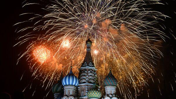 Fajerwerki w Moskwie - Sputnik Polska