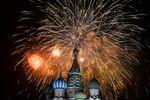 Fajerwerki w Moskwie
