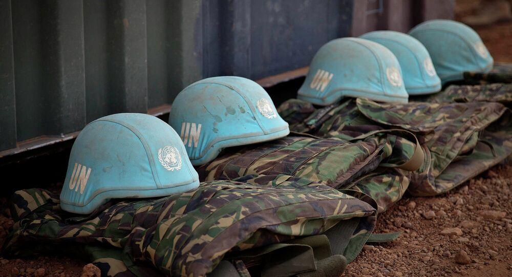 Wyposażenie sił pokojowych ONZ