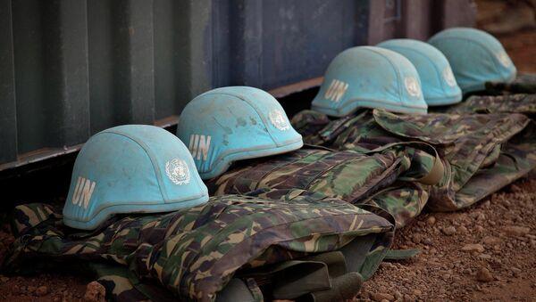Wyposażenie sił pokojowych ONZ - Sputnik Polska