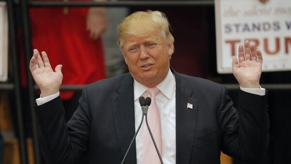 Kandydat na prezydenta Stanów Zjednoczonych Donald Trump - Sputnik Polska