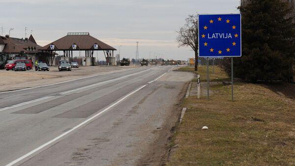 Wjazd na terytorium Łotwy - Sputnik Polska
