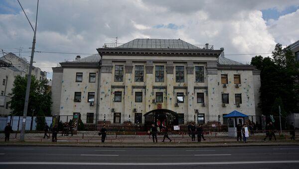 Ambasada Rosji w Kijowie - Sputnik Polska