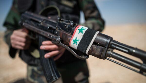 Wojna domowa w Syrii - Sputnik Polska