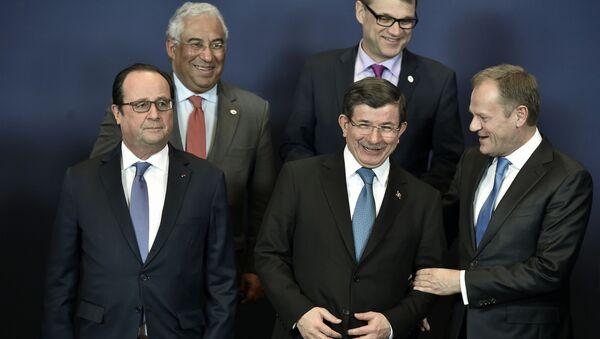 Szczyt UE - Turcja - Sputnik Polska