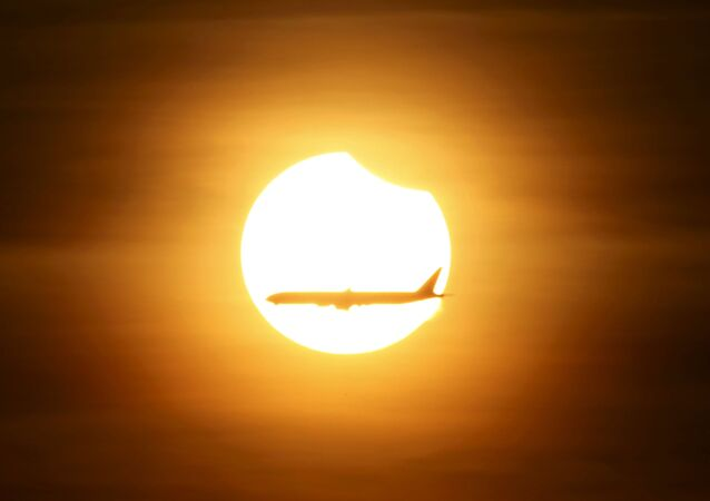 Zaćmienie słońca w Singapurze