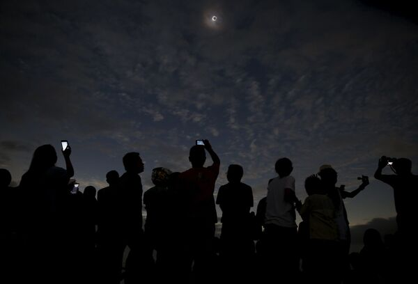 Zaćmienie słońca w Indonezji - Sputnik Polska