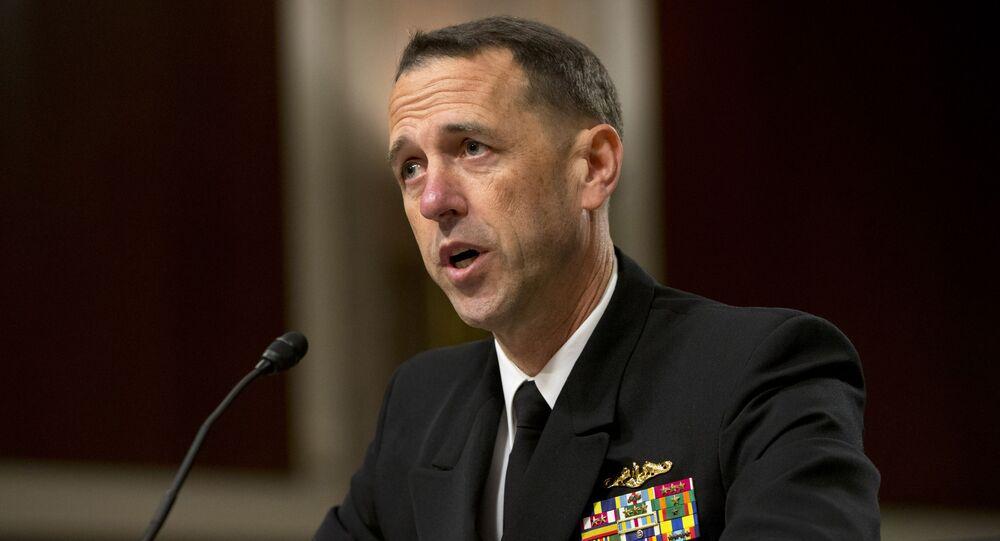 Szef sztabu amerykańskiej marynarki wojennej admirał John Richardson