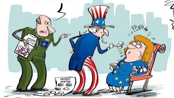 Amerykańskie rakiety Patriot w Szwecji - Sputnik Polska