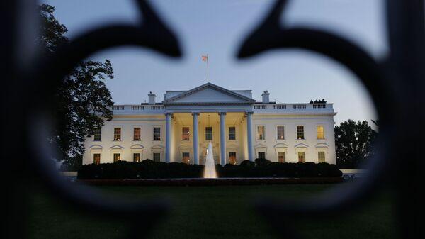Biały Dom w Waszyngtonie - Sputnik Polska