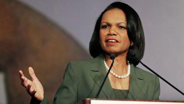 Była sekretarz stanu USA Condoleezza Rice - Sputnik Polska
