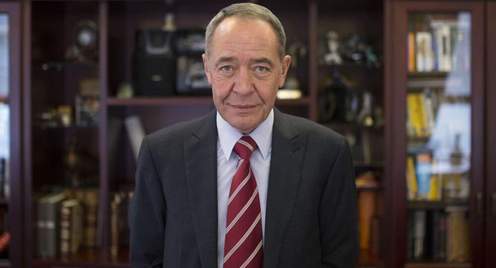 Były szef spółki medialnej Gazprom-Media i były minister do spraw prasy, radia i telewizji Michaił Lesin