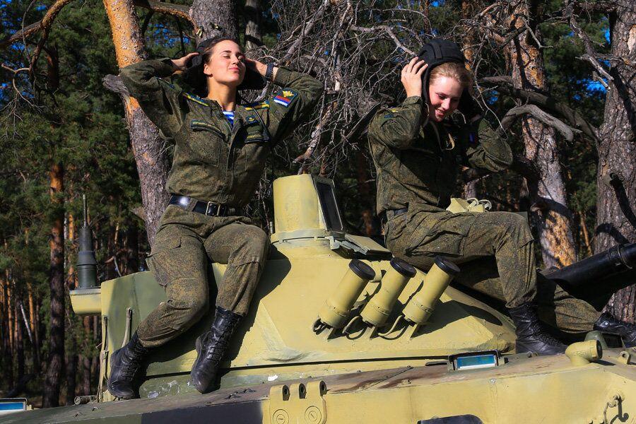 Kadetki Riazańskiej Wyższej Szkoły Dowódczej Wojsk Powietrznodesantowych