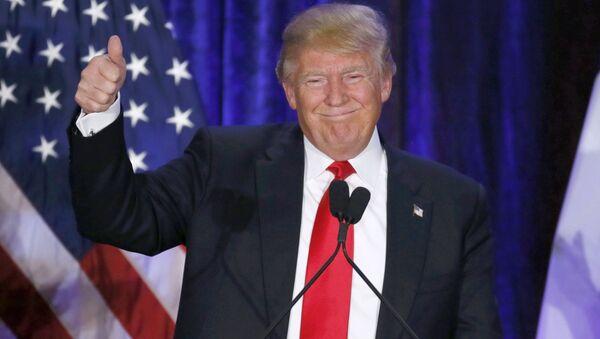 Republikański kandydat na prezydenta Stanów Zjednoczonych Donald Trump - Sputnik Polska