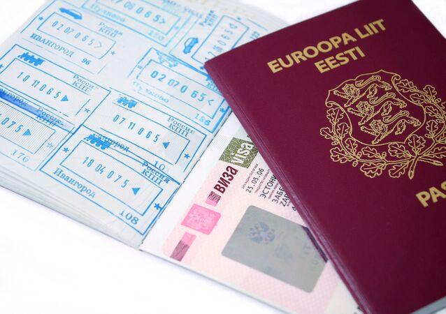 Estoński paszport