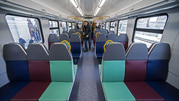 Prezentacja nowego elektrycznego pociągu pasażerskiego - Sputnik Polska