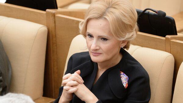 Przewodnicząca Komisji ds. Bezpieczeństwa i Walki z Korupcją Dumy Państwowej Irina Jarowaja - Sputnik Polska