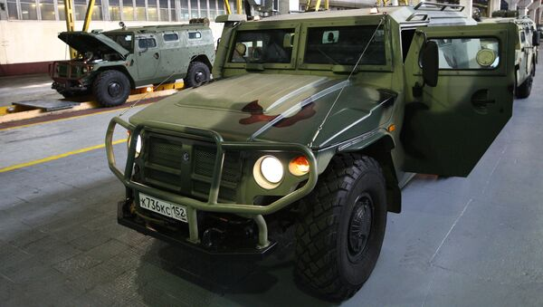 Pojazd opancerzony Tigr - Sputnik Polska