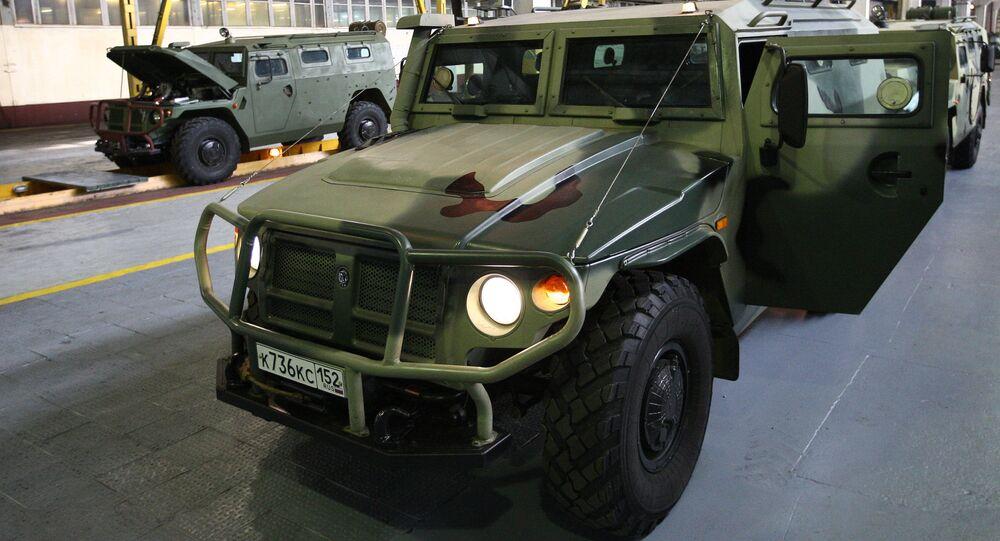 Pojazd opancerzony Tigr