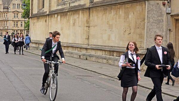 Studenci w Oxfordzie - Sputnik Polska