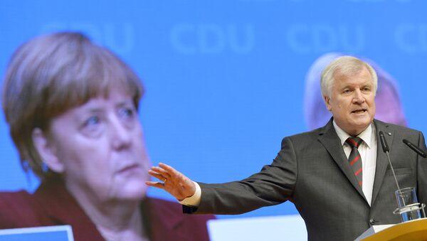 Bayerns Ministerpräsident Horst Seehofer - Sputnik Polska