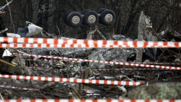 Miejsce katastrofy prezydenckiego samolotu Tu-154 pod Smoleńskiem, 11 kwietnia 2010 r. - Sputnik Polska
