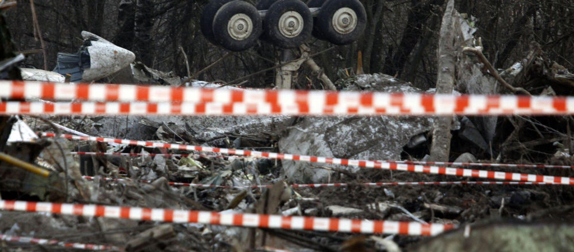 Miejsce katastrofy prezydenckiego samolotu Tu-154 pod Smoleńskiem, 11 kwietnia 2010 r. - Sputnik Polska, 1920, 19.03.2021